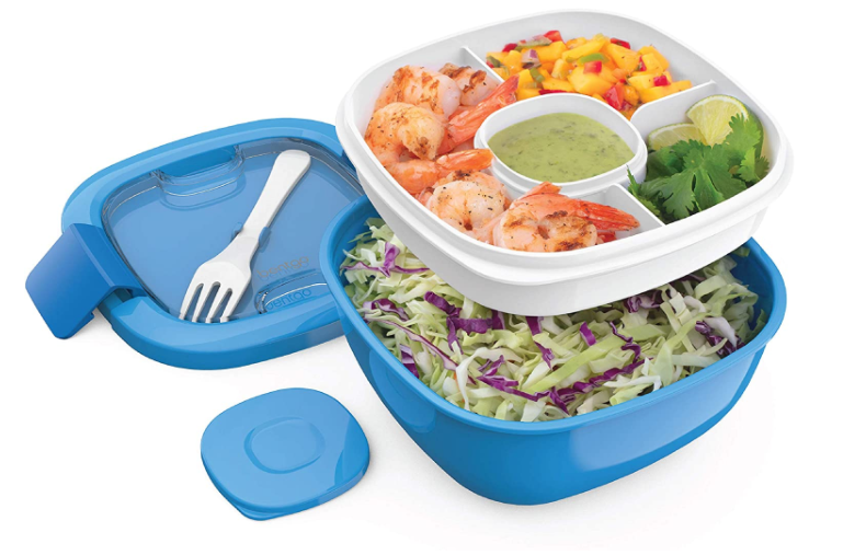 Bento Box With Food Jar q