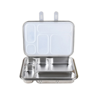 BPA Free Stainless Steel Bento Box